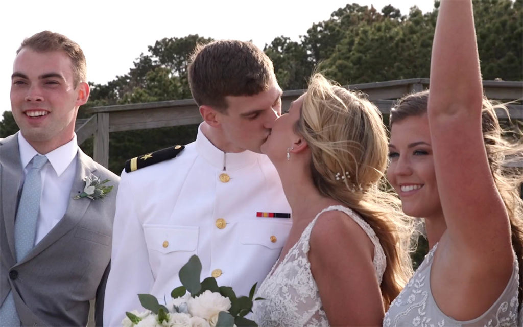 Popponesset Inn and New Seabury wedding couple during their photo session on the beach