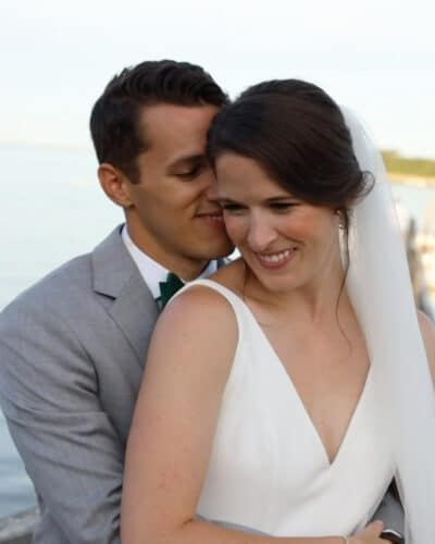 Wequassett Resort Wedding Couple filmed by Harborview Studios Boston wedding videographer