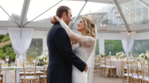 First Dance of Cape Cod wedding at Wequassett Resort