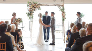 Wequassett Wedding Ceremony on the Veranda