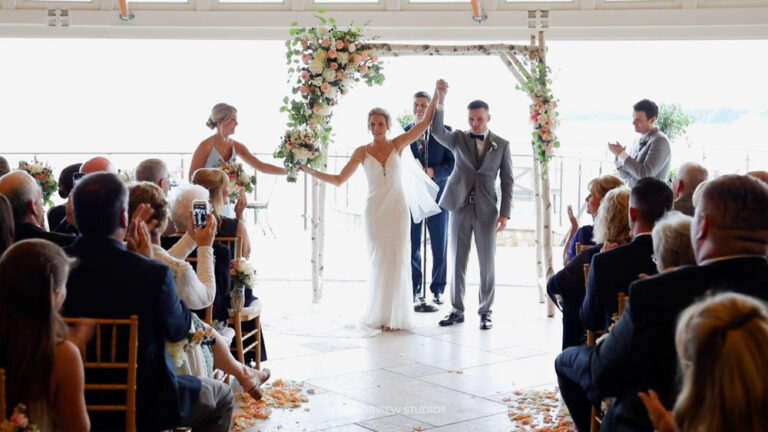 Couple getting married on Cape Cod